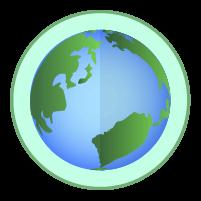 地球アイコンイラスト2