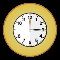 時計アイコンイラスト