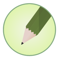鉛筆アイコンイラスト