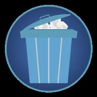 ゴミ箱アイコンイラスト2