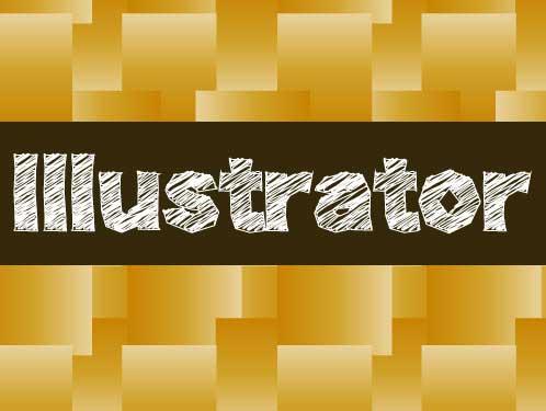 illustratorのタイポグラフィー