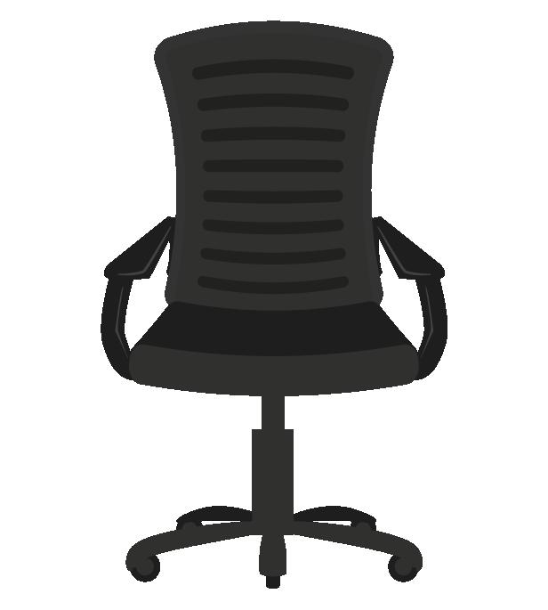 オフィスの椅子のイラスト
