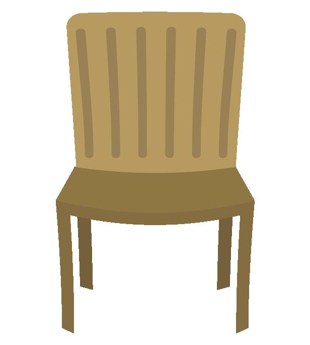 可愛い椅子のイラスト