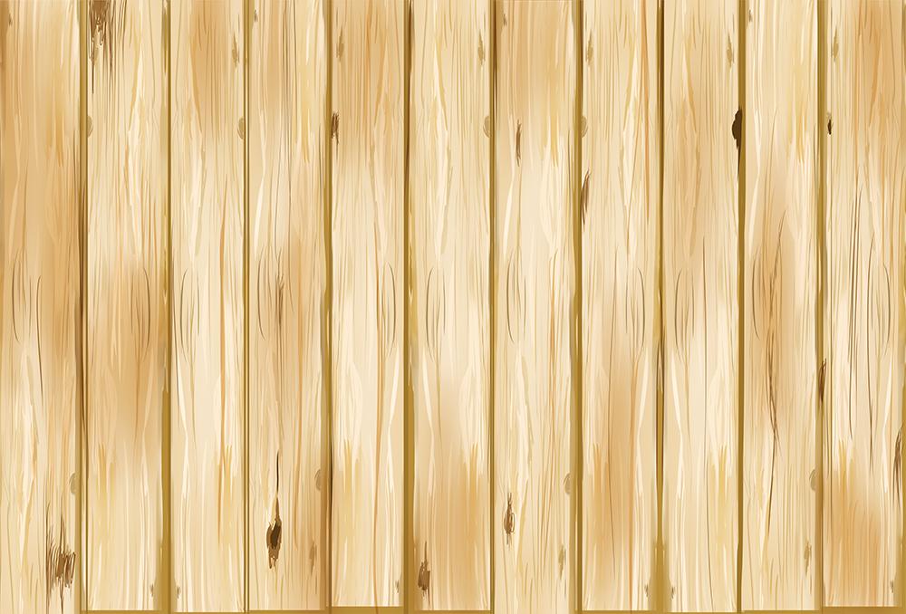 茶色の板の背景(太い)のイラスト