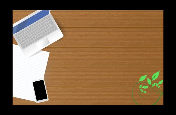 パソコンとスマホのイラスト2