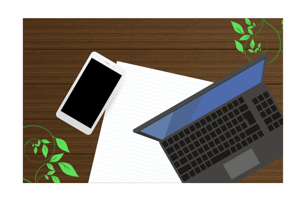 パソコンとスマホのイラスト4