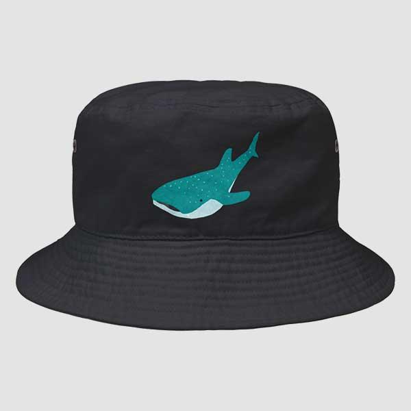 ジンベイザメのイラストハット