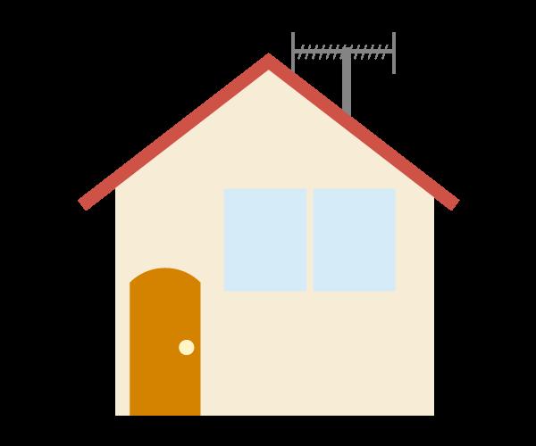 一般住宅のイラスト(小)