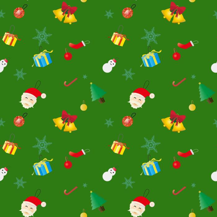 クリスマス背景のイラスト