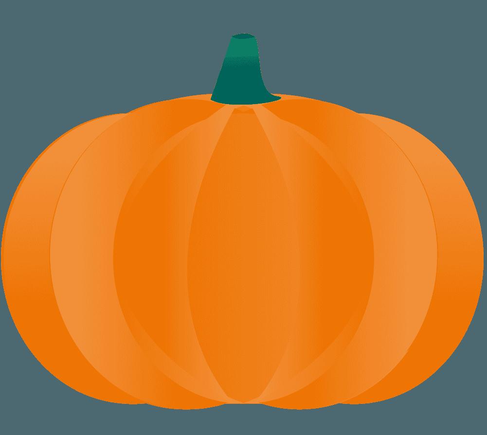 ハロウィン大きいかぼちゃイラスト
