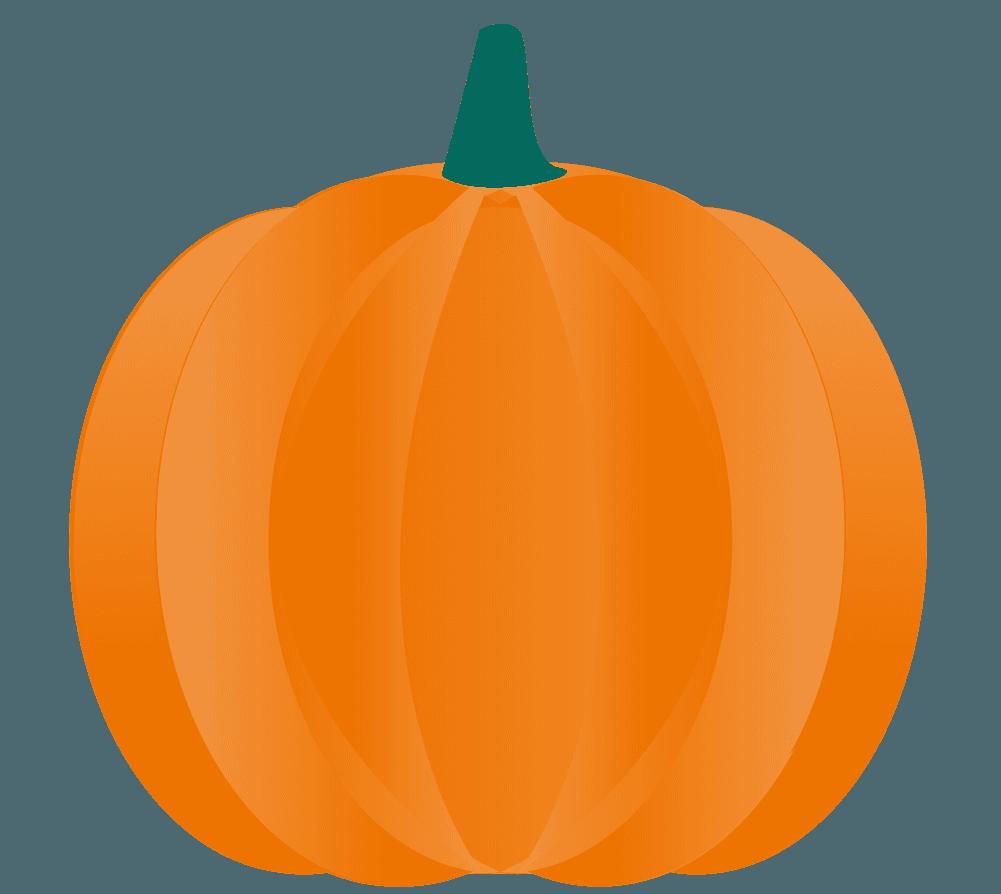 ハロウィンの小さいかぼちゃイラスト