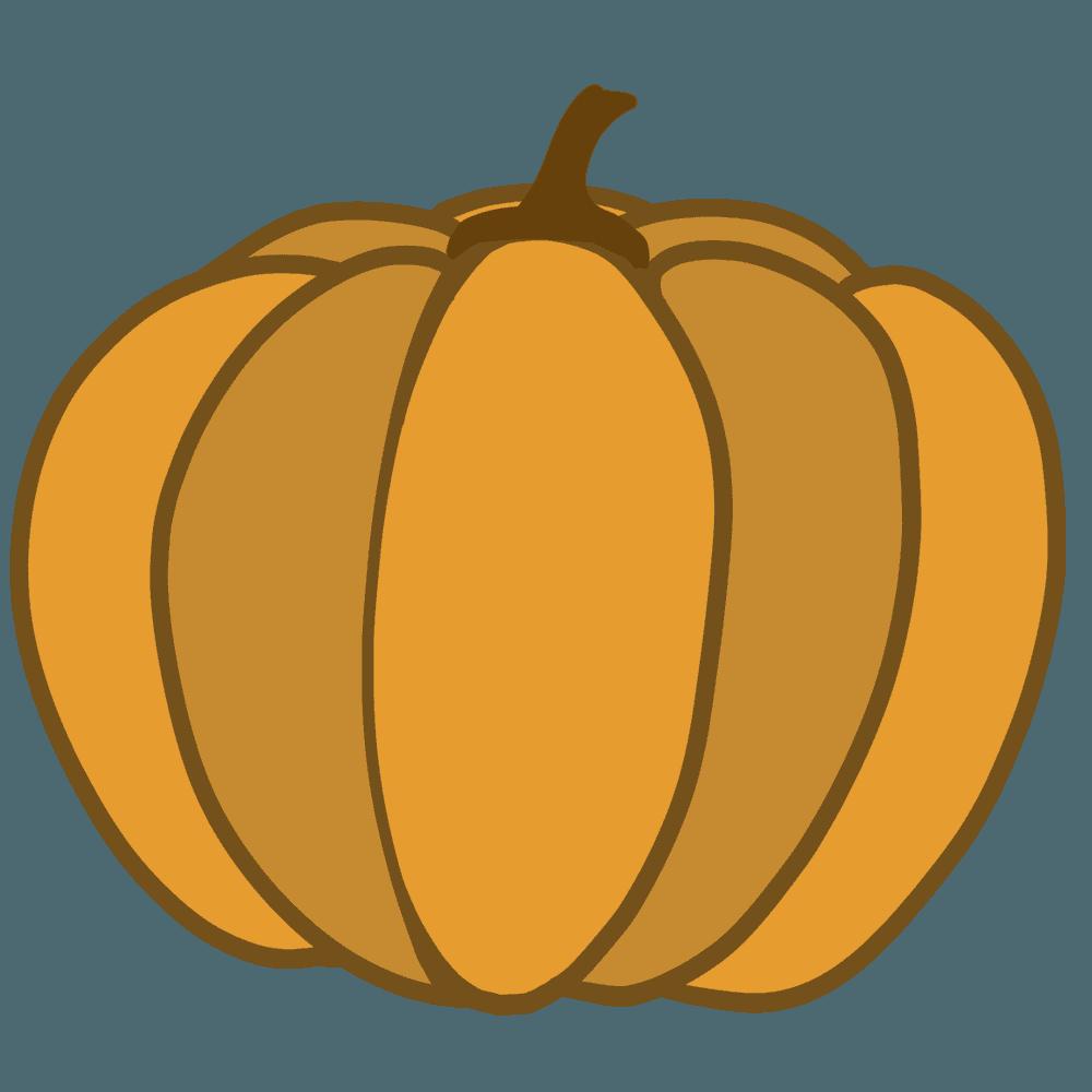 おばけかぼちゃイラスト