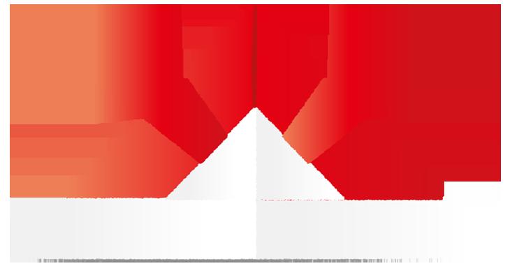 赤い折り紙兜
