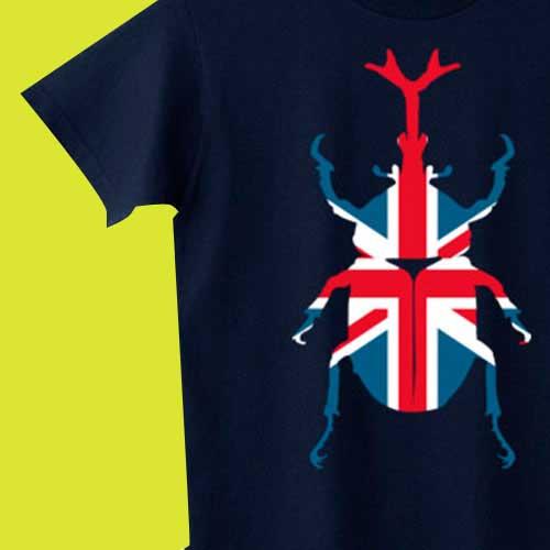カブトムシTシャツ - かっこいい昆虫デザイン&グッズ