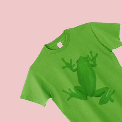 カエルTシャツ