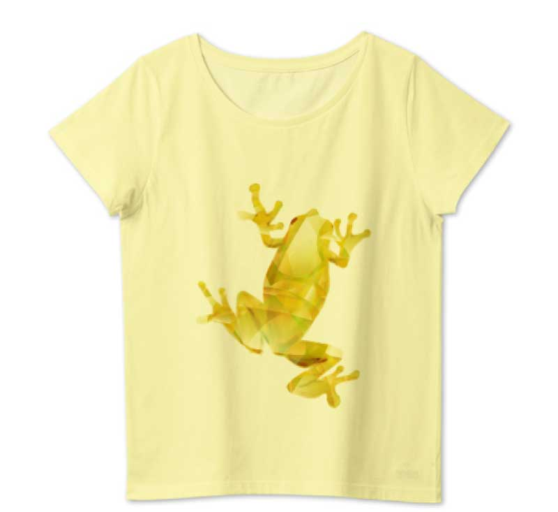 ゴールドカエルTシャツ