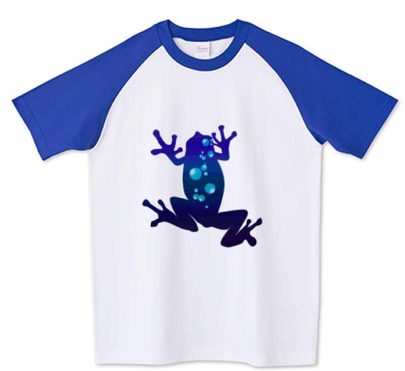 不思議な深海のカエルTシャツ