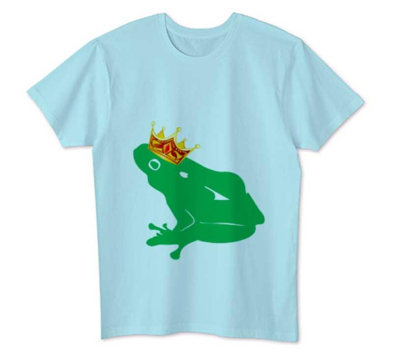 カエルの王様Tシャツ