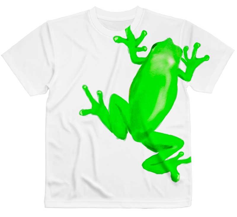 巨大カエルTシャツ