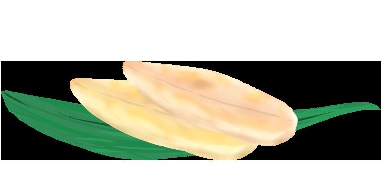 笹かまぼこのイラスト