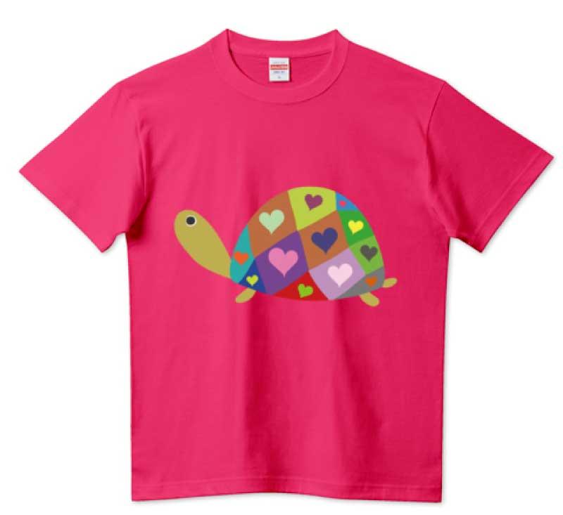 ラブ亀さんTシャツ