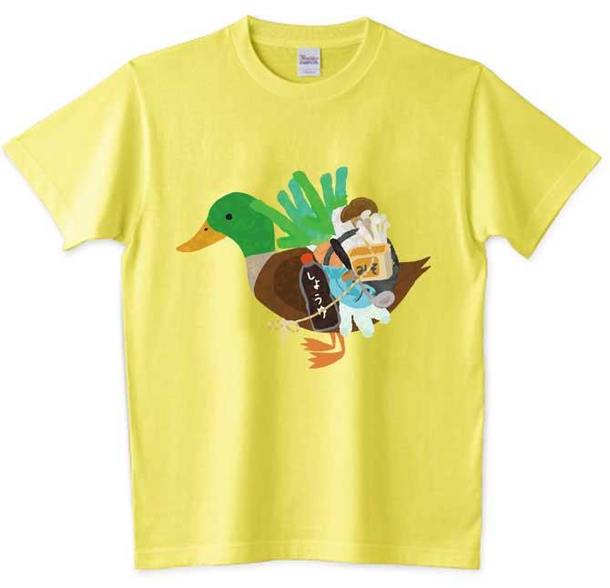 黄色いカモネギTシャツ