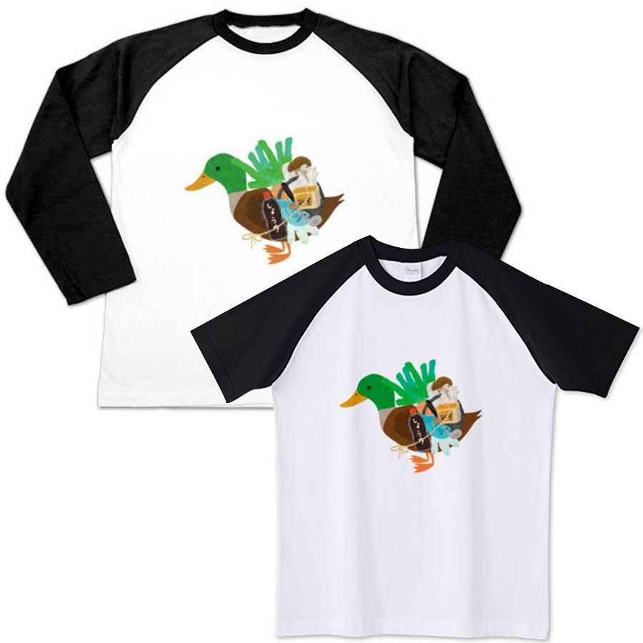 カモネギラグラン/長袖と半袖Tシャツ
