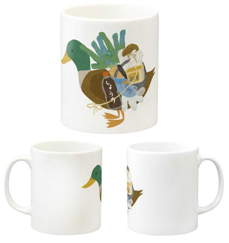 おもしろカモネギマグカップ