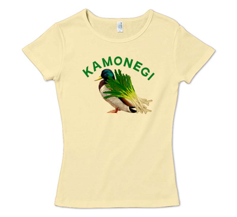 カモネギ2 CVCフライスTシャツ