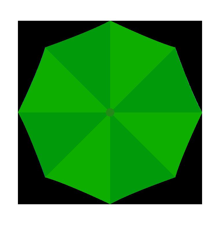 緑の傘(上)