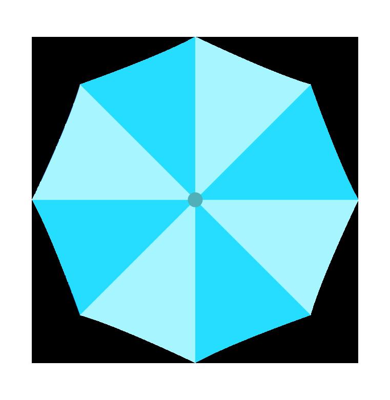 水色の傘(上)