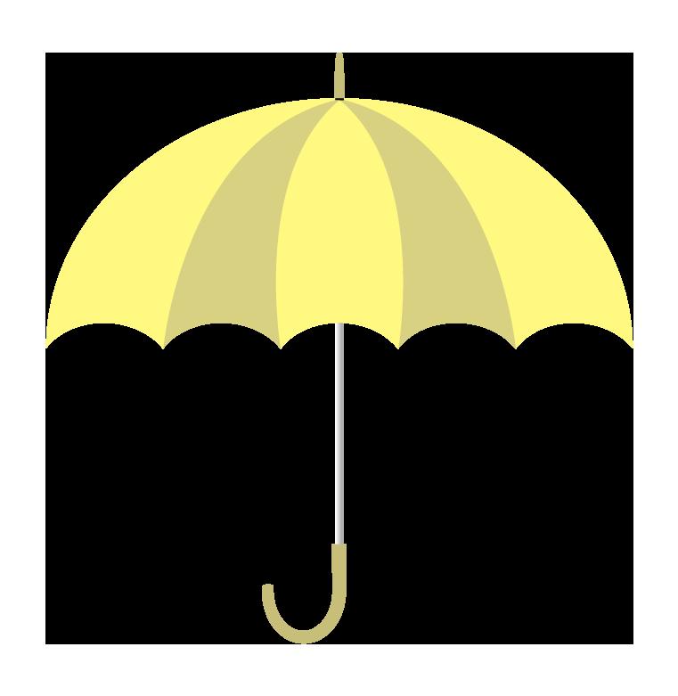 黄色い傘(横)