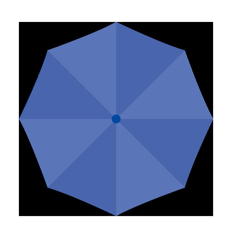 青い傘(上)