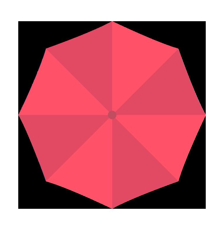 赤い傘(上)