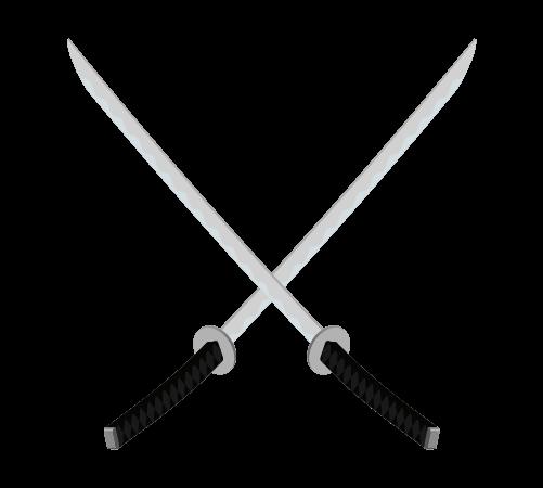 刀のデザインマークイラスト