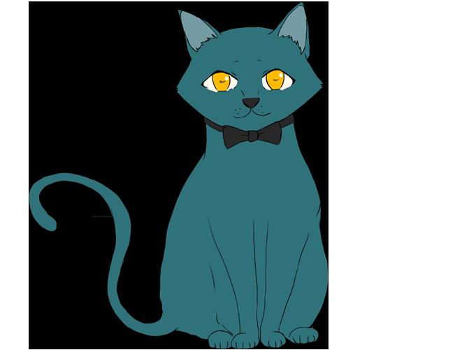 手書きの猫のイラスト