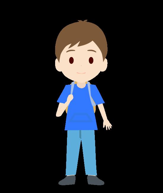 息子のイラスト