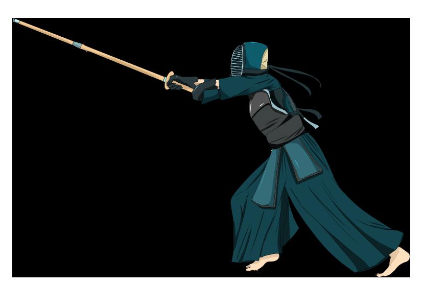 剣道のイラスト(面)
