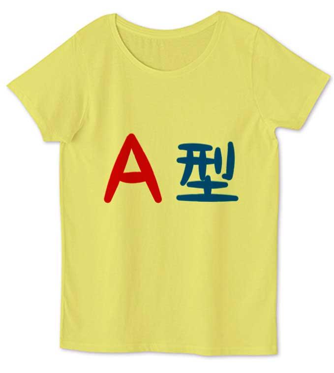 A型レディースTシャツ