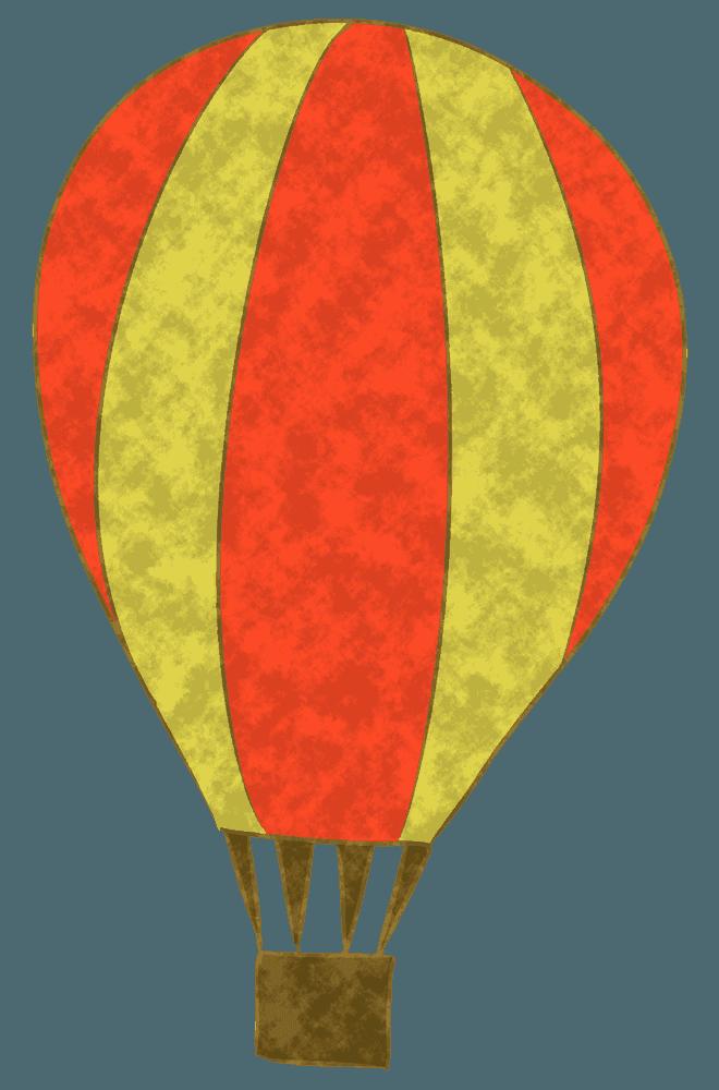 可愛い気球イラスト