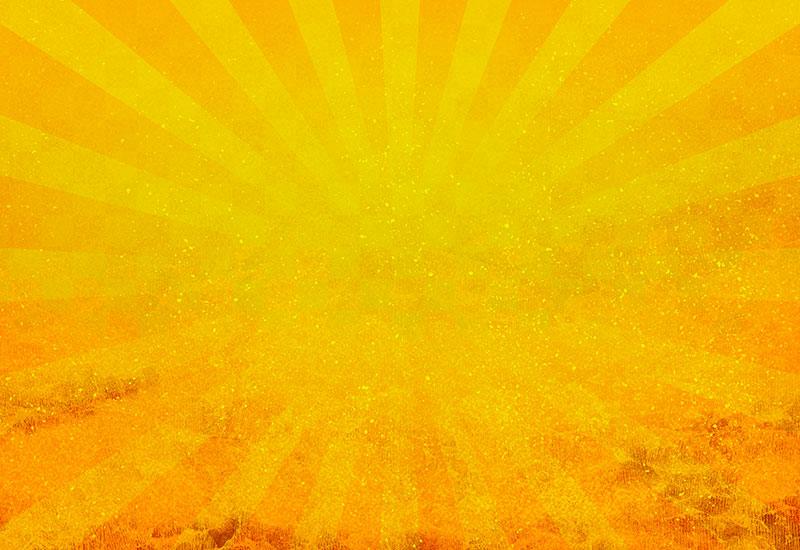 金のオールド日照の背景イラスト