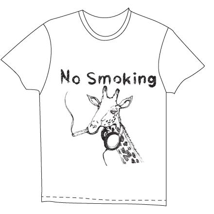 ホワイトキリンTシャツ