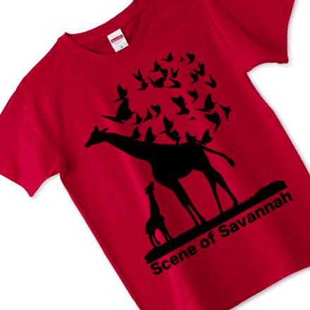 レッドキリンのおしゃれなTシャツ