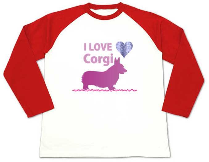 I LOVE CorgiTシャツ