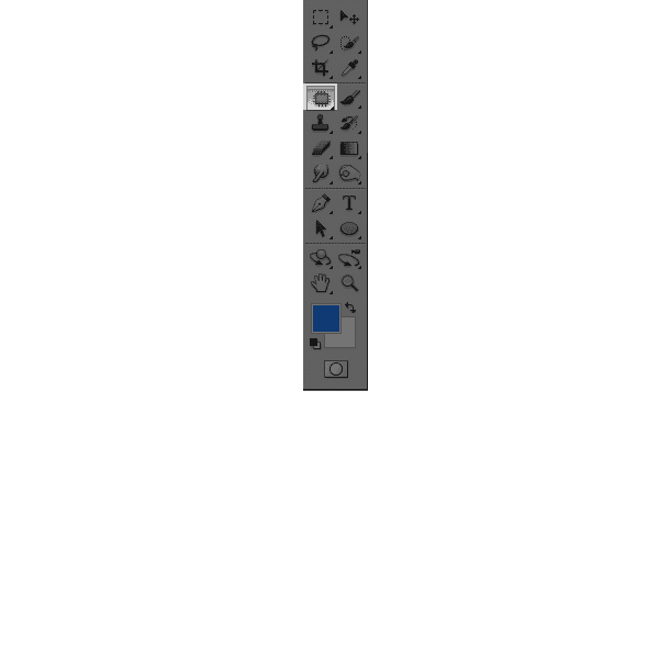 フォトショプのバッチツールバー