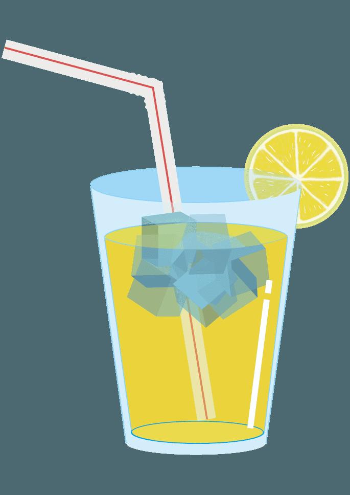 レモンジュースイラスト