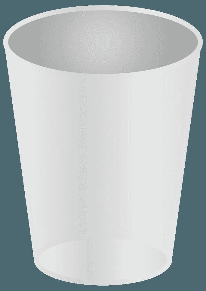 ステンレスのコップイラスト