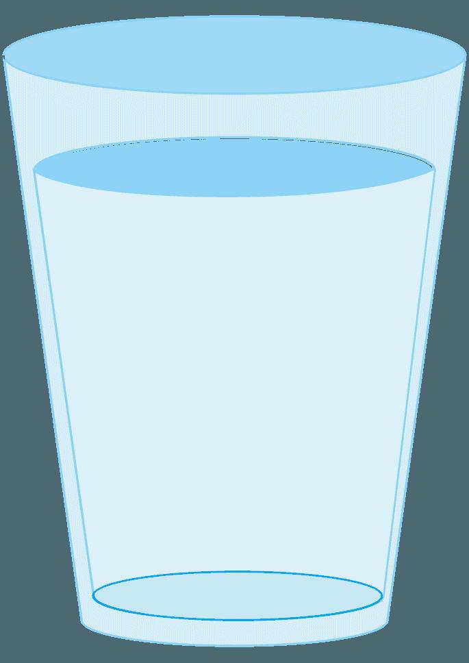 普通のコップイラスト