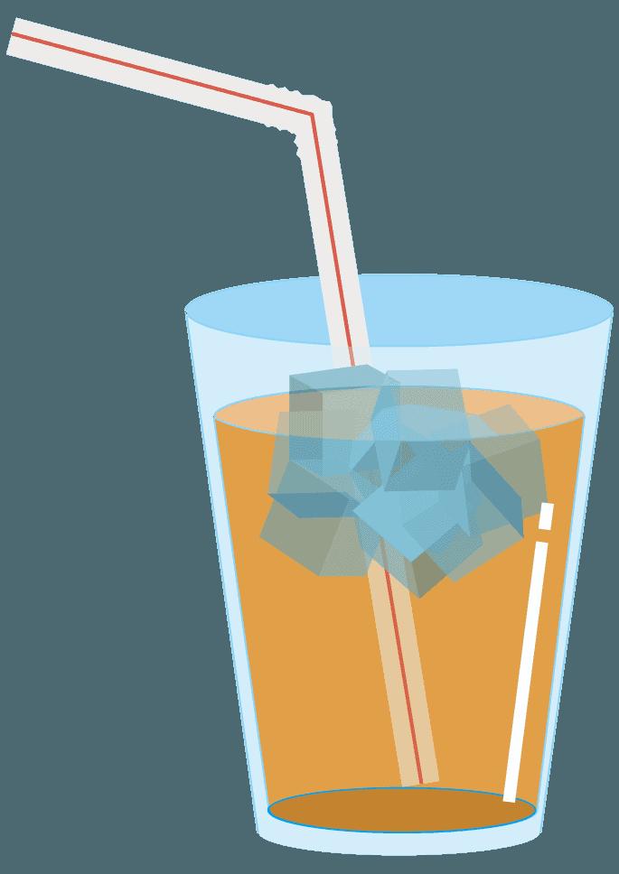 オレンジジュースイラスト