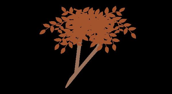 紅葉の枝のイラスト9